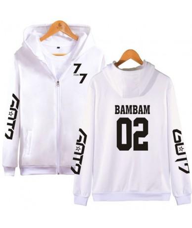 GOT7 Jackson JR YoungJae BamBam YuGyeom Fleece Hoody Hoodies For Women Men Streetwear Zipper 7 For 7 Sweatshirt Clothing - w...