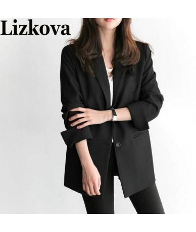 2019 Spring Autumn Women Black Blazer Office Lady blazer mujer women blazers and jackets chaqueta mujer - 4G4121905116