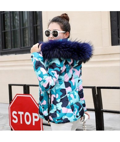 Winter Jacket Women Parkas for Coat Fashion Female Down Jacket With a Hood Large Faux Fur Collar Coat 2019 Autumn high quali...