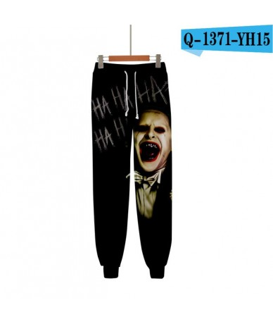 Frdun Tommy haha joker 3D Printed Sweatpants Fashion Casual Jogger Pants 2018 New Casual Warm Pants Slim Kpop Men/Women Pant...