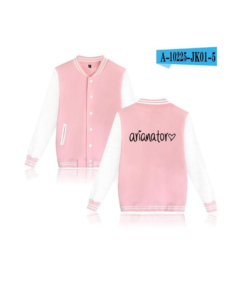 Ariana Grande Dangerous Woman tour College Baseball Jacket Moletom Feminino Korean Streetwear hip hop Harajuku Sweatshirt Ho...