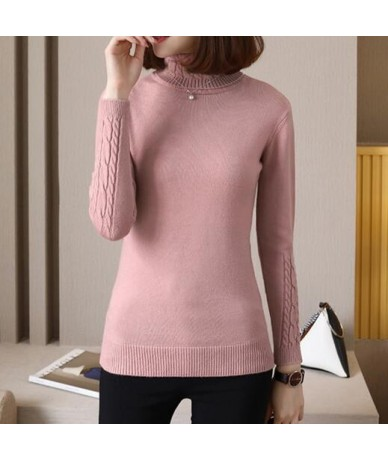 Thick Sweater Female 2019 new Autumn Winter Cashmere Knitted Women Sweater And Pullover Female Tricot Jersey Jumper Pull Fem...
