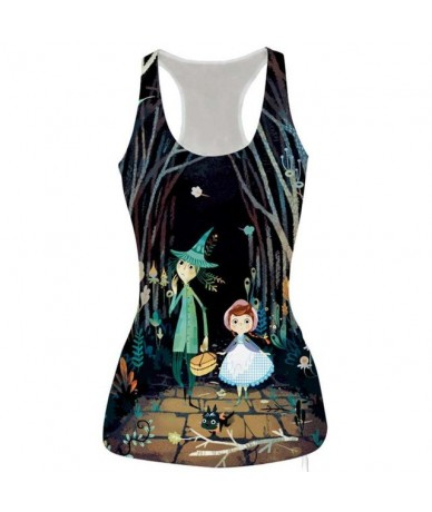 2019 Top Women Female Tshirts Sleeveless Floral Print Tank Top Casual Fitness Vest Graceful Summer Tank Tops Cropped Feminin...