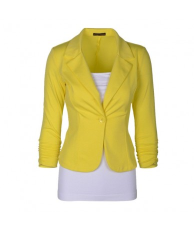 New Women Blazer Spring Slim Top Elegant Single Button Short Design Big Size Blazer Suit Female Suit & Women Work Wear MZ149...