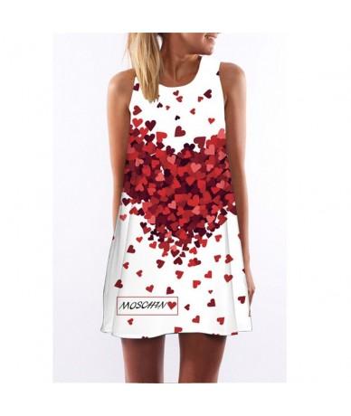 Summer Vintage Dress Women O Neck Loose Causal Beach Wear Above Knee A-line Dress Vest Dress Vestidos 2019 - DS0007 - 4G4125...