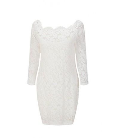 3XL Plus Size Dress Women Elegant Sweet Hollow Out Lace Dress Sexy Party Princess Slim Package Hips Dresses Vestidos MZ2327 ...