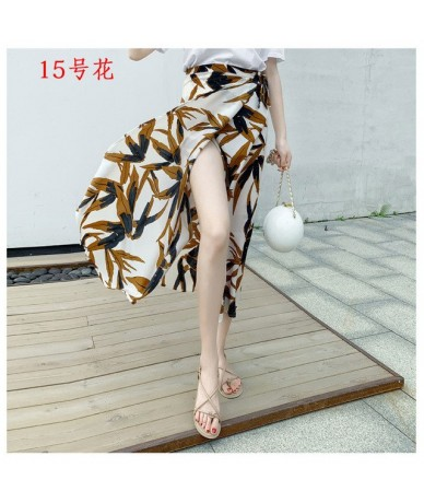 New Summer Fashion Long Skirt women skirts scover-ups sarong wrap pareo beach Chiffon Wrap maxi skirt towel Multiple Way Wea...