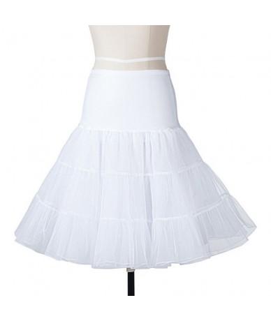 Multicolor Quality Fashion Tulle Skirt Pleated Skirts High Waist Black White Tutu Gonna Tulle Skirt Petticoat Fluffy Undersk...