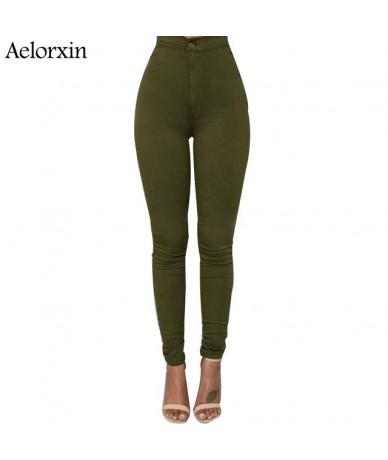 Slim Jeans For Women Skinny High Waist Jeans Woman Blue Denim Pencil Pants Stretch Waist Women Jeans Black Pants Calca Femin...