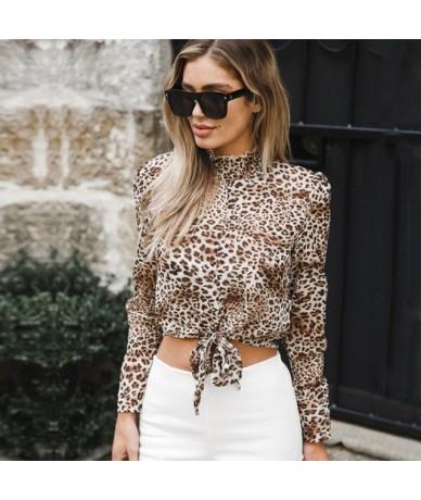 2018 New Style Women Long Sleeve LoosePolka DotTurtleneck Fashion Ladies Summer Casual Blouse Tops Shirt - White - 433904915...