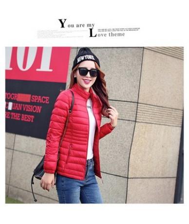 Autumn ladies cotton jacket 2018 New winter Parkas Women Slim zipper Short Fashion Jacket New Arrival Female Coat LF893 - Re...