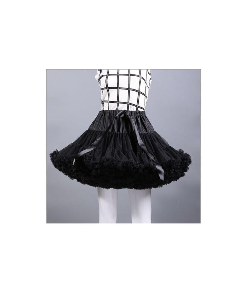 Ladies Princess Ballet Tutu Skirt Party Dance Adult Fluffy Pettiskirt Petticoa Princess Tulle Party Dance Fashion Mesh Skirt...
