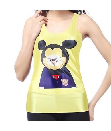 Plus Size Tshirt Tank Tops Women Red Flower Aztec Round Ombre Sleeveless Sexy Club T shirt Feminina - DBS1052 - 4I3996675292-13