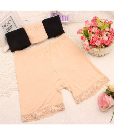 FASHION 3 Colors 2 Sizes Sexy Women Trousers Short Trousers Under Leggings - Skin - 4W3896731302-3