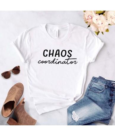 Chaos Coordinator Women tshirt Cotton Casual Funny t shirt Gift For Lady Yong Girl Top Tee Drop Ship S-742 - White - 4841663...