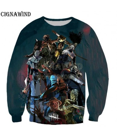 New Harajuku game dead by daylight 3D Printed funny Sweatshirts fashion Men/Women tracksuits Streetwear hip hop pullovers - ...