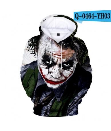 2018 New Joker Hoodies Sweatshirts Men/Women 3D Printed Fun Hoodies Novelty Streetwear Hooded Autumn Winter Clothing Male Co...