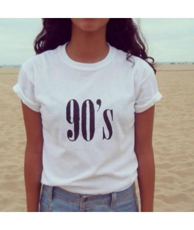 Womens Funny T shirt White Parody I Speak Fluent Sarcasm Fashion American T-shirt Woman Tee Tops Street - WTQH212-white - 4X...