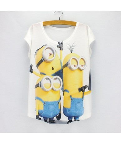 New fashion Flower Elephant printed t shirts women summer tees 2016 novelty design casual top tees for girls - HS383 - 4O373...