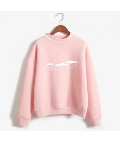 New Kpop Hoody Spring Autumn Long Sleeve Casual Harajuku Pink Sweatshirt Women Cute Printed Hoodies Moletom Feminino Oversiz...
