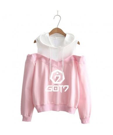 Fans Got7 Hoodie Women Exo Seventeen Sweatshirt Female Love Yourself Hoodies Femme Clothing nct stray kids - pink-GOT - 4V30...