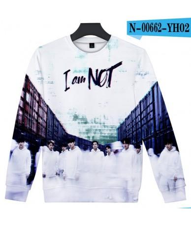 Stray Kids 3D Printed O-Neck Sweatshirts Women/Men Fashion Kpop Long Sleeve Sweatshirts 2019 Hot Sale Casual Streetwear Clot...