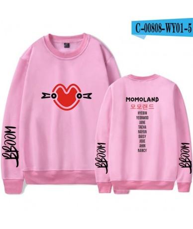 Women/men Casual Clothes 2019 Hot Sale Capless Long Sleeves Hoodies Sweatshirts Print Kpops Plus Size 4XL - Pink - 4C3086512...