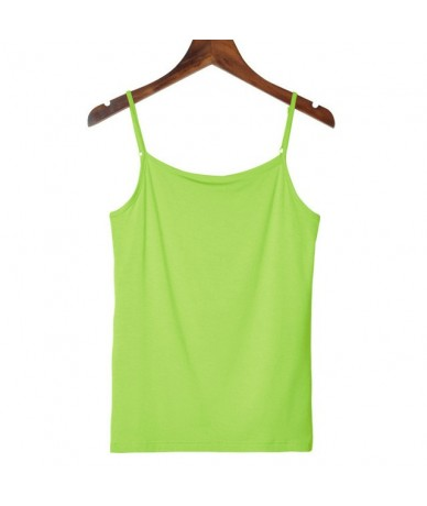 2018 New Summer Women Sexy Sleeveless Camis Tank Tops Strap Shirts Basic Solid Color Ladies Summer Casual Blouse Blusas - Fr...