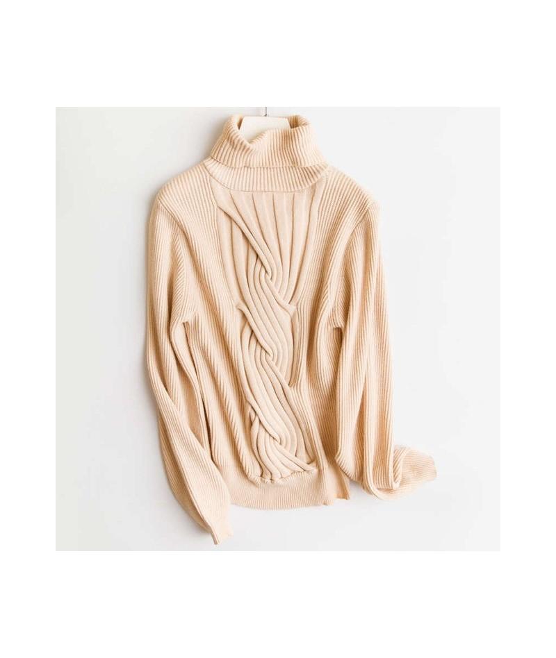 Turtleneck Cashmere Sweater Women Leisure Large size Women's Sweater Winter Cashmere Sweaters For Women Sweaters Pullover Fe...