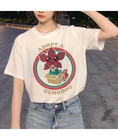 New Stranger Things 3 Harajuku T Shirt Women Upside Down Ullzang Print T-shirt 90s Graphic Tshirt Fashion Eleven Top Tees Fe...