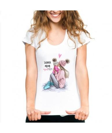 Mother's Love T Shirts Family Series Summer 2019 Funny T Shirt Women White T-shirt Korean Fashion Clothing Streetwear Vogue ...