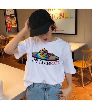 grunge aesthetic t shirt female korean tee shirts Summer top 90s Casual Graphic 2019 O-Neck Tumblr Grunge women girl tshirt ...