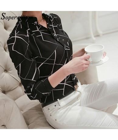 Women Shirts Office Blouse 2019 Spring Autumn Long Sleeve Chiffon Shirt Ladies Tops Womens Top and Blouses Blusas Feminine H...