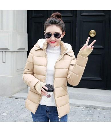 New Parka Women 2019 Winter Jacket Women Snow Wear Hooded Warm Female Parka Thick Cotton Padded Lining Winter Coat Female Ja...