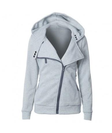 2019 Hot Oversize Hoodie Sweatshirt Women Coat Zipper White Casual Fashion Basic Top Autumn Winter Outwear Ladies Black Hood...