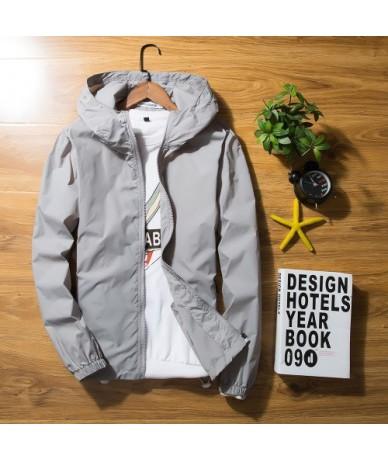 Coat Women 2019 Summer Sunscreen Windbreaker Jacket Plus Size Sun-protective Clothing Couple Casaco Feminino Thin KJ389 - Gr...