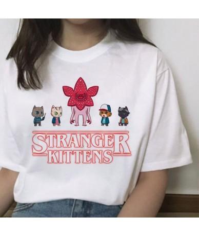 stranger things 3 women t shirt harajuku Eleven female hip hop femme tshirt streetwear funny clothing 2019 cartoon Casual - ...