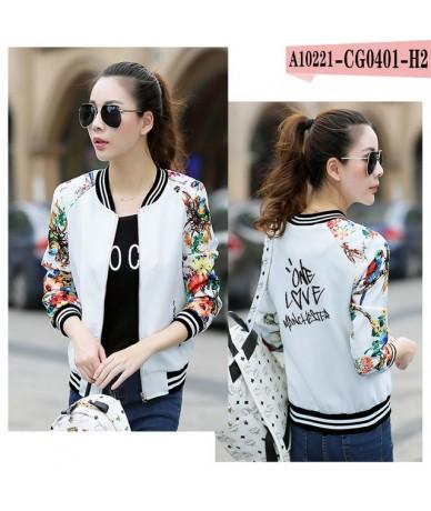 2019 Trend Ariana Grande Jacket Korean Harajuku Long Sleeve Zipper Jacket Spring Coat Women Casual Kawaii Streetwear Clothes...