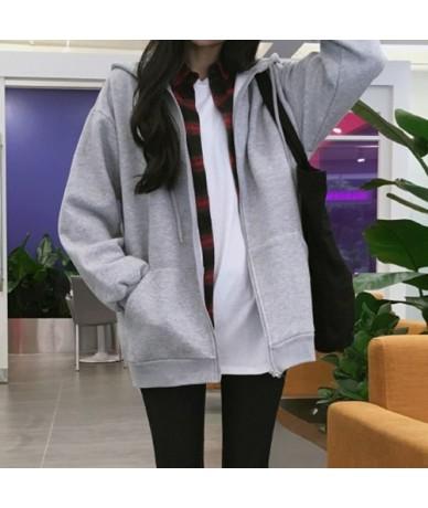 New Fashions Autumn&Winter Women Hoodies Sweatshirts Zipper Long Sleeve Warm Female Thicken Hoodies Drawstring Hoodie Jacket...