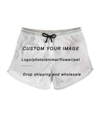 Kawaii Boston Terrier/Boxer Dog Floral Printing Shorts Woman Vintage Short Pants for Teen Girls Casual Summer Short - Custom...