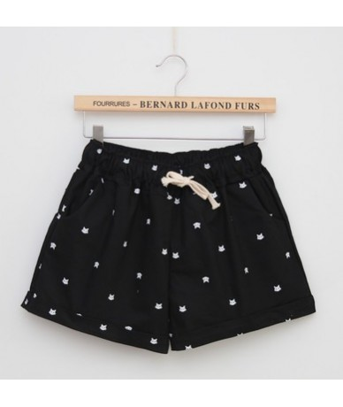 2016 Summer Style Shorts Women Candy Color Elastic With Belt Short Women A224 - 212Black - 4O3546457627-1
