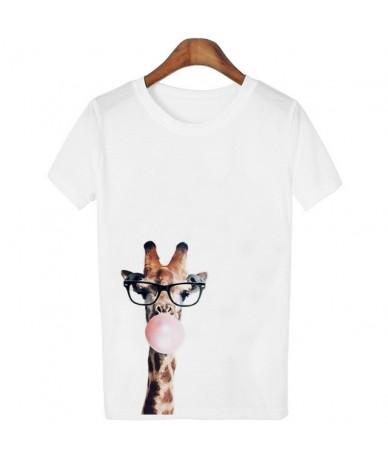 Summer Women T shirts Funny giraffe Print T Shirt Women tshirts Casual Fashion Short Sleeve Tops Tees Hipster Harajuku Shirt...