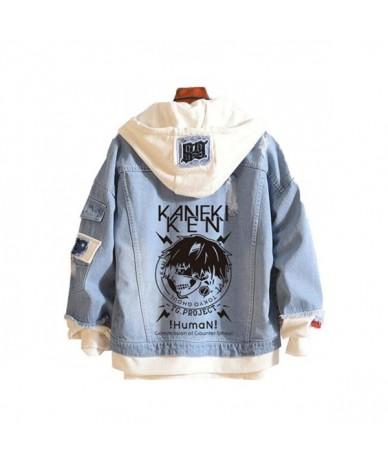 Tokyo Ghoul Women Knitted Sweatshirts Anime Long Jean Jacket Time Raiders Spring Hooded Women Denim Jackets Fashion Hoodies ...