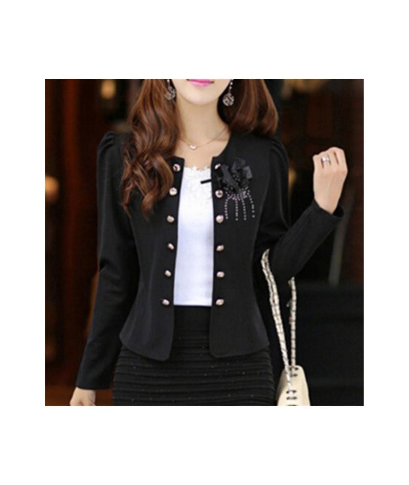 New 2016 Fashion slim blazer clothing suit candy color short design outerwear blazer short women coat the jacket Plus size L...
