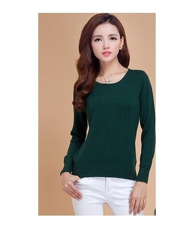 New Fashion Round Neck Pullover Sweater Knitting/Cashmere Sweater/Coat Slim/Base Shirt Multicolor Available Genuine Goods - ...