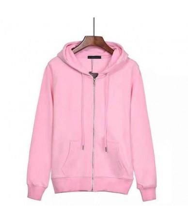 Fashion 2019 Autumn Winter Women's long sleeve zipper hoodies casual cotton womens fleece thick hooded sweatshirts female co...