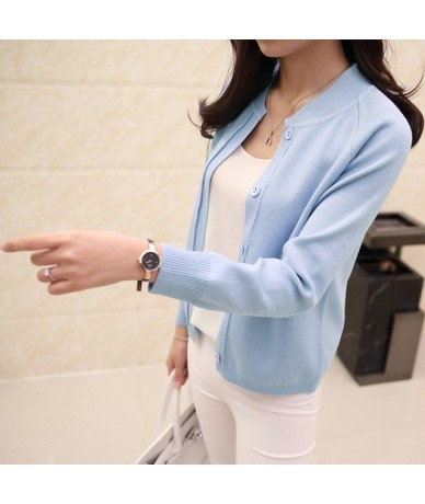 The new spring 2017 female knit cardigan sweater coat short female a little shawl knitted jacket female - see chart - 4T3914...