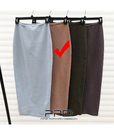 High Quality Sexy Woman Buttocks Tight Skirts Fashion Hips Waist Stretch Long Skirt - Color-2 - 4P3007352709-2