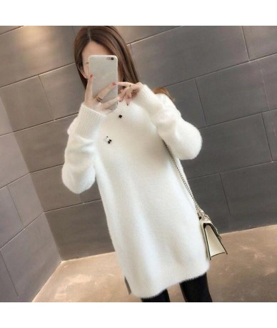 Fashion Female Wool sweater 2019 New Spring Autumn Winter Women Long Sleeve Sweater Knitted For Women Basic Tops wool Sweate...