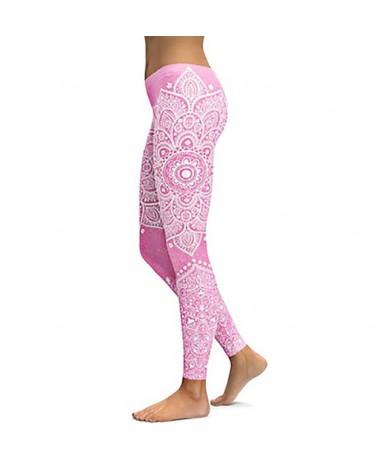 Fashion Mandala Women's Leggings For Fitness Multicolor 3D Printed Workout Leggins Sporting Elastic Ankle Pants - JJ-KDK1011...